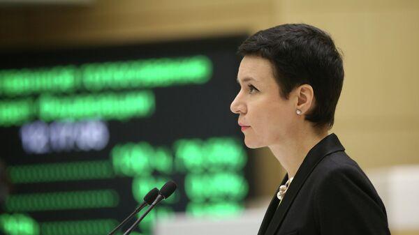 Первый заместитель председателя Комитета Совета Федерации по конституционному законодательству и государственному строительству Ирина Рукавишникова