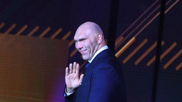 Чемпион мира по боксу в тяжёлом весе по версии WBA, депутат Государственной думы РФ Николай Валуев