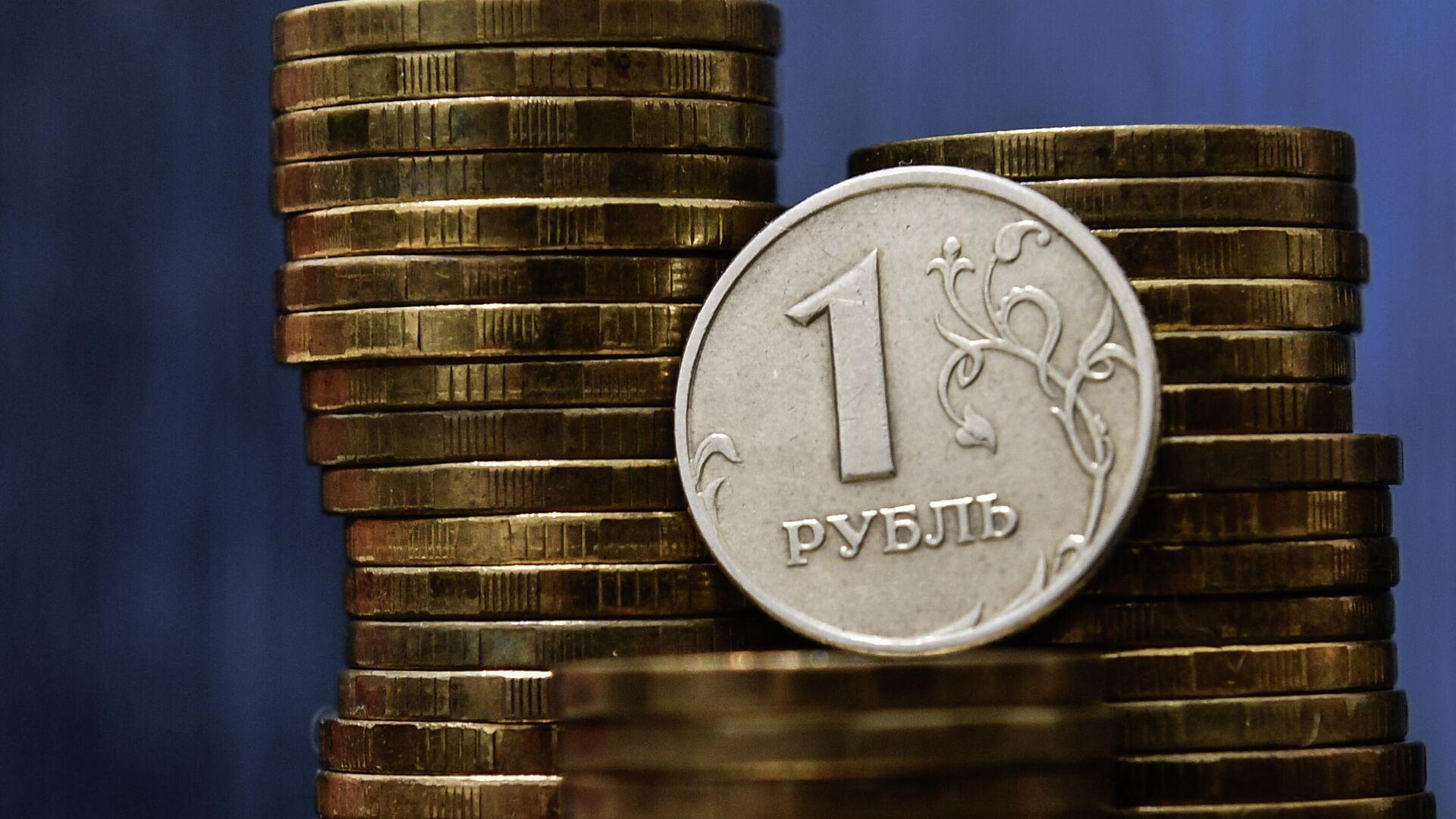 Монеты номиналом один рубль - РИА Новости, 1920, 08.02.2021
