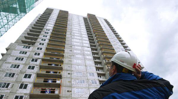Строительство жилого дома в Москве