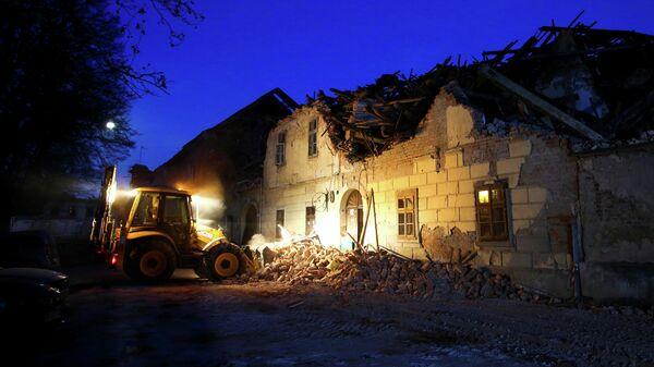 Ликвидация последствий землетрясения в Хорватии