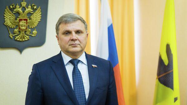 Председатель Ярославской областной Думы Алексей Константинов