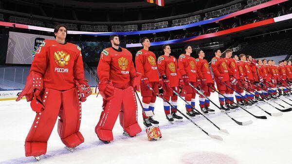 Молодежная сборная России по хоккею на чемпионате мира 2021 года в Эдмонтоне