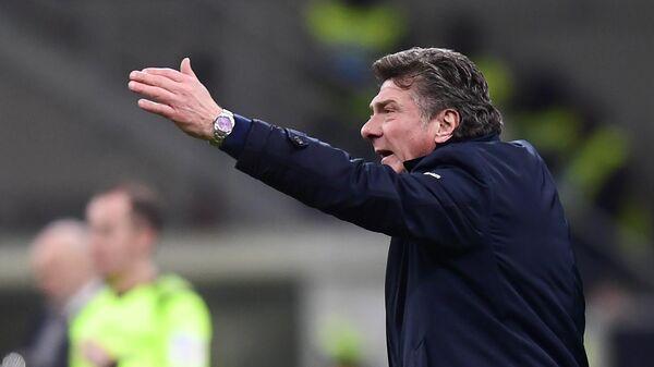 Футбольный тренер Вальтер Маццарри (Италия)