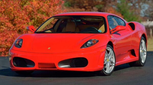 Автомобиль Ferrari F430, принадлежавший Дональду Трампу