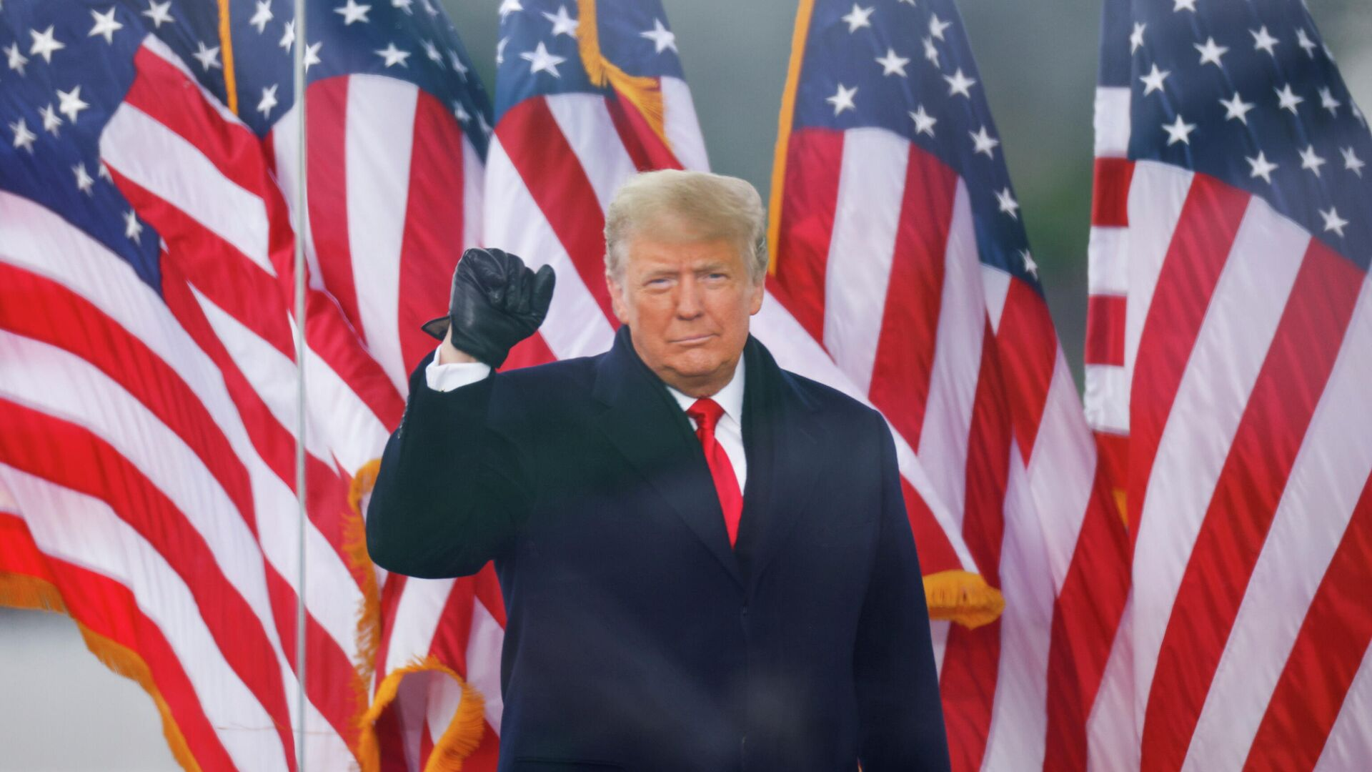 Президент Дональд Трамп выступает на митинге в Вашингтоне - РИА Новости, 1920, 09.01.2021