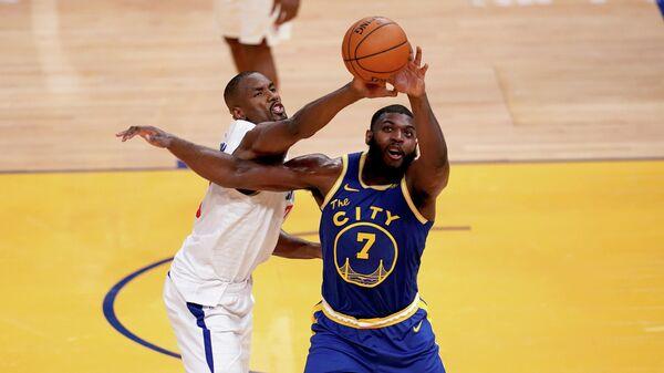 Матч НБА между командами Лос-Анджелес Клипперс и Голден Стэйт Уорриорз
