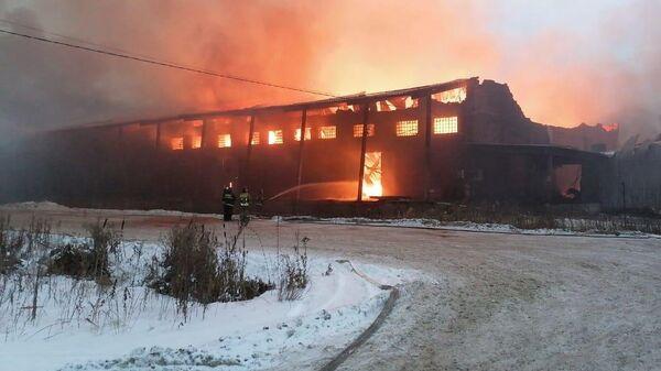 Пожар на складах на станции Бронницы, Раменский район