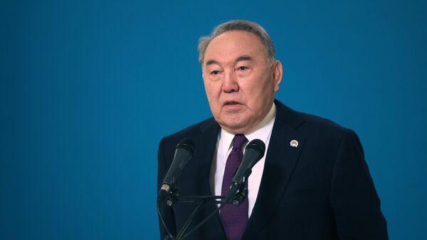 Первый президент Республики Казахстан Нурсултан Назарбаев