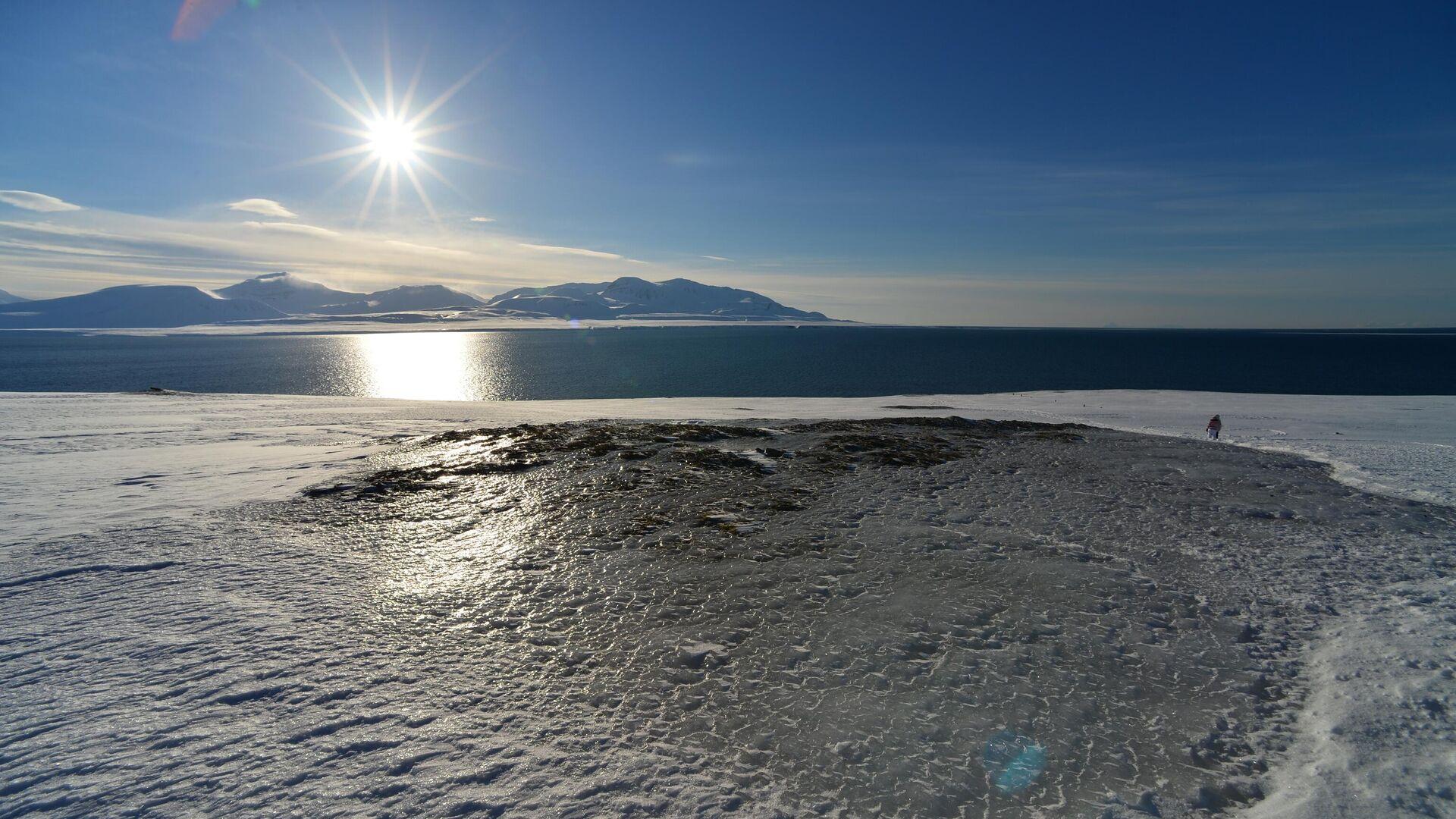 Вид на Северный Ледовитый океан с архипелага Шпицберген - РИА Новости, 1920, 24.09.2021