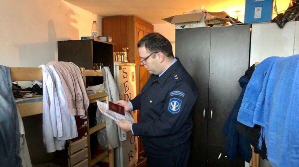Рейд сотрудников Мосжилинспекции по пресечению работы незаконных хостелов