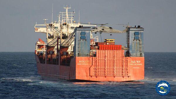 Спецназ Военно-морских сил Греции высадился на российский торговый корабль Адлер в Средиземном море