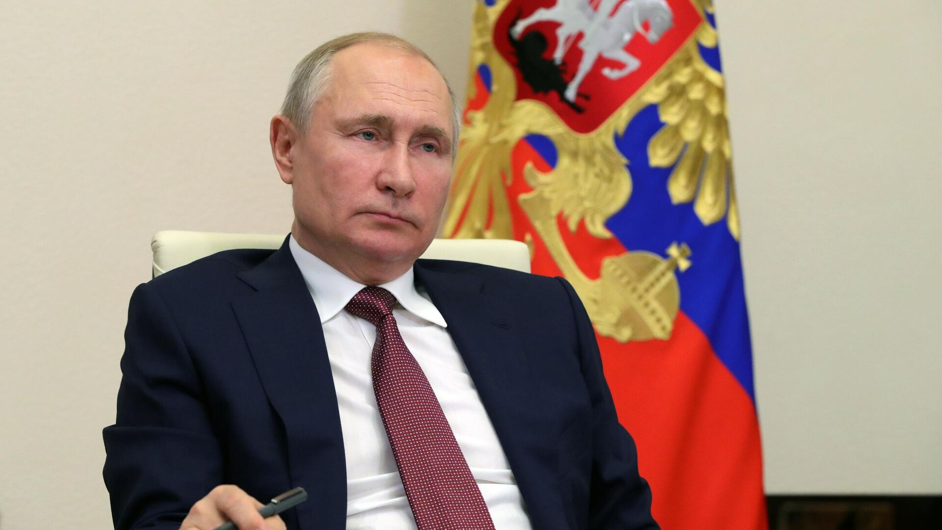 Президент РФ Владимир Путин - РИА Новости, 1920, 16.02.2021