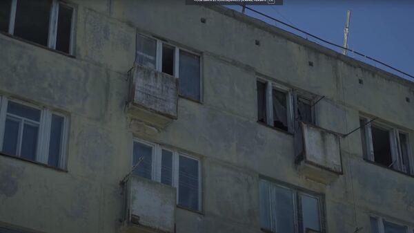 Видео о живущих в аварийном доме в Дальнегорске пенсионерах