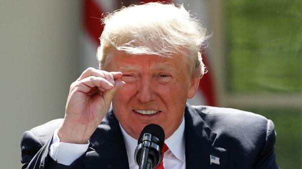 Президент США Дональд Трамп в Вашингтоне, США