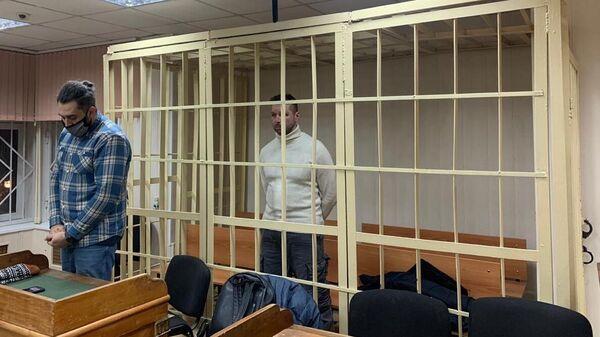 Оператор Фонда борьбы с коррупцией Павел Зеленский в Пресненском суде Москвы