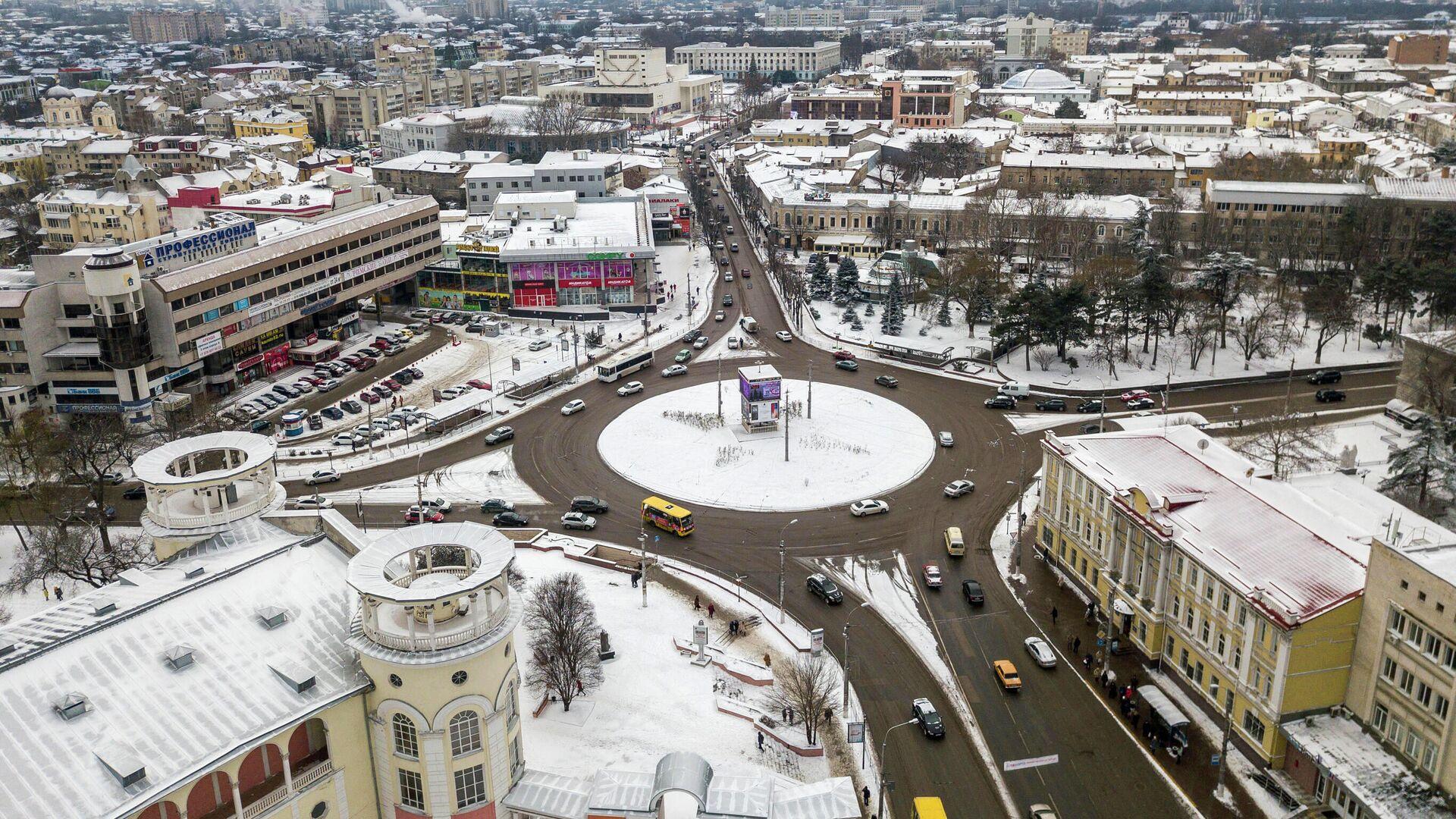 Заснеженный Симферополь - РИА Новости, 1920, 24.02.2021