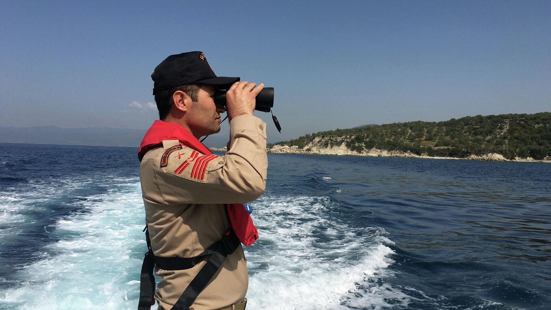 Офицер береговой охраны Турции - РИА Новости, 1920, 17.01.2021