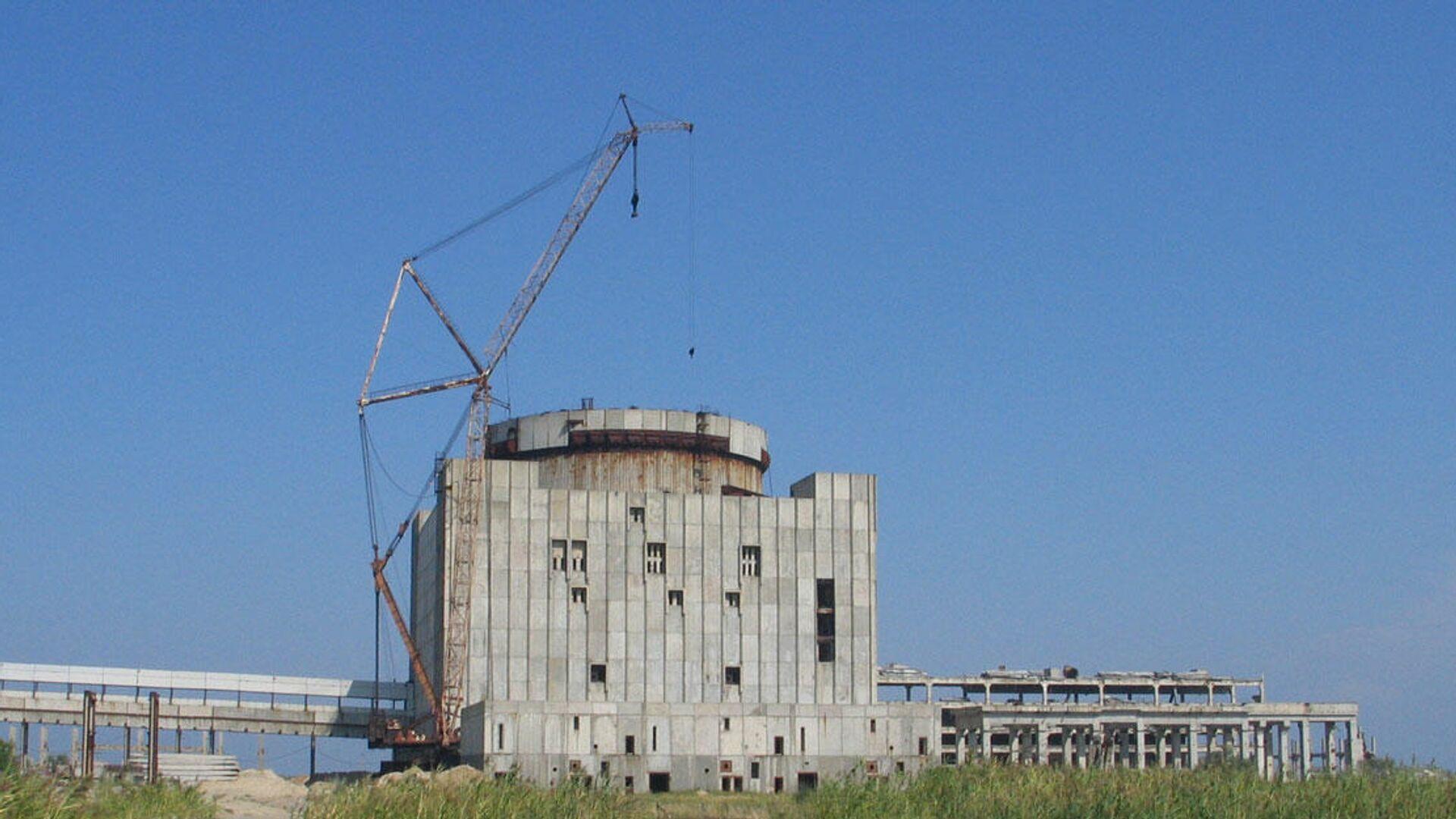 Крымская АЭС. 2008 год - РИА Новости, 1920, 08.02.2021