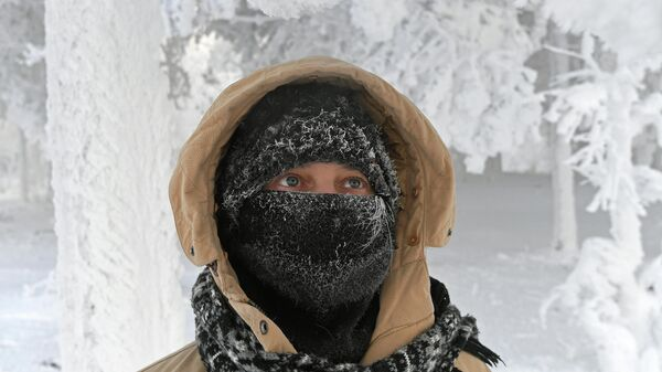 Морозы в Красноярском крае