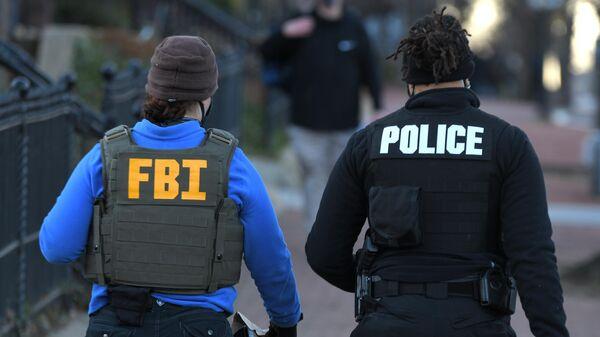 Сотрудники ФБР и полиции в США