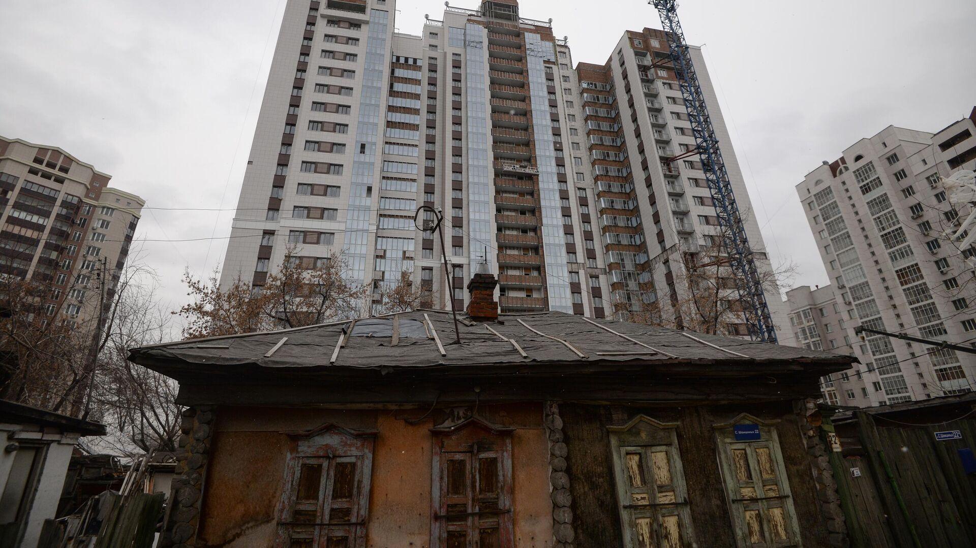 Строительство жилья - РИА Новости, 1920, 21.01.2021