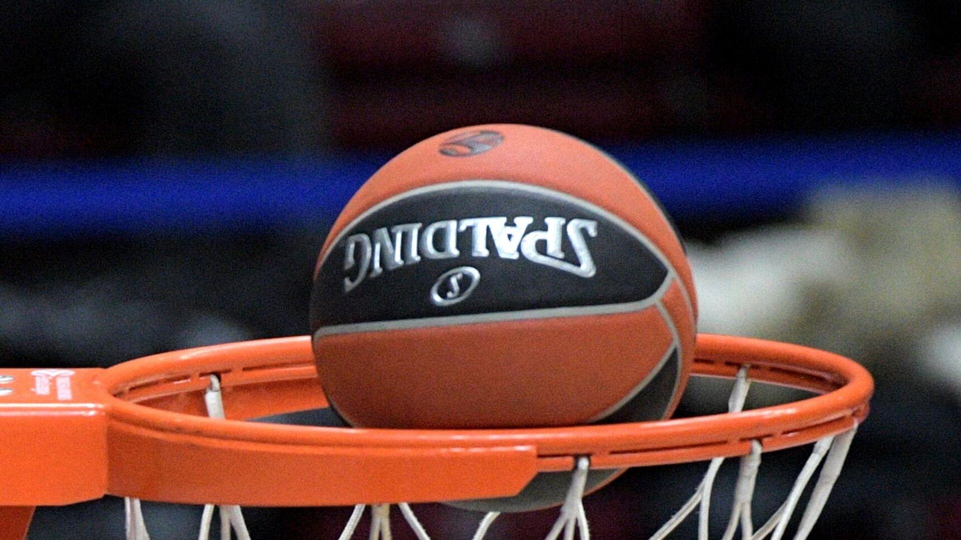 Баскетбольный мяч - РИА Новости, 1920, 01.10.2021