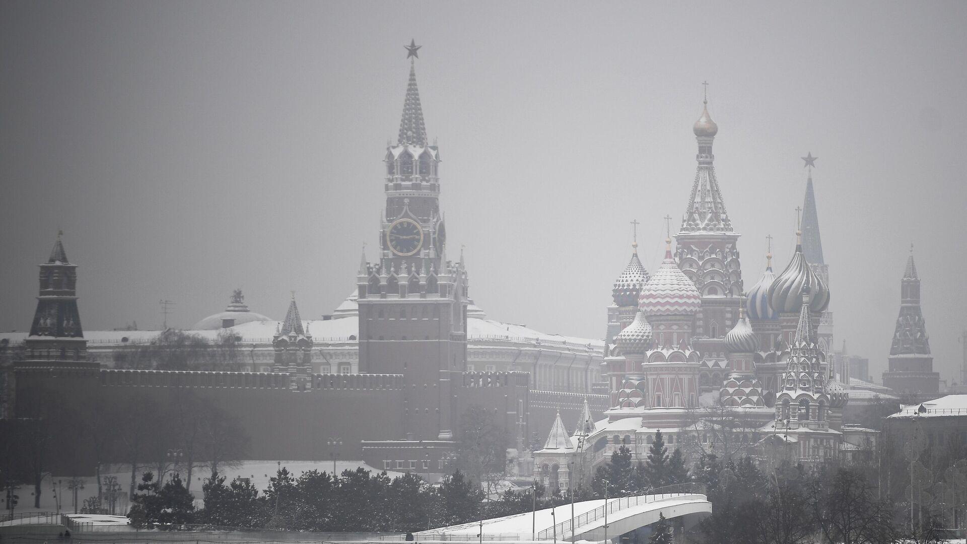 Башни Московского Кремля - РИА Новости, 1920, 29.01.2021