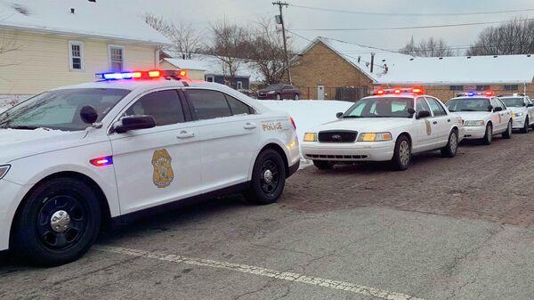 Автомобиль полиции Индианаполиса