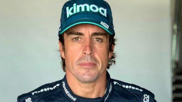 Пилот Формулы-1 Фернандо Алонсо