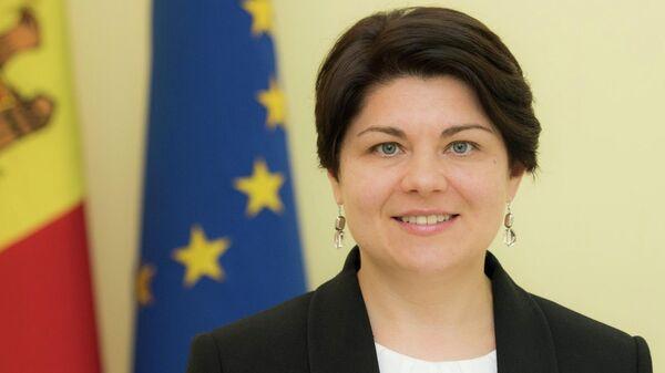 Премьер Молдавии Наталья Гаврилица