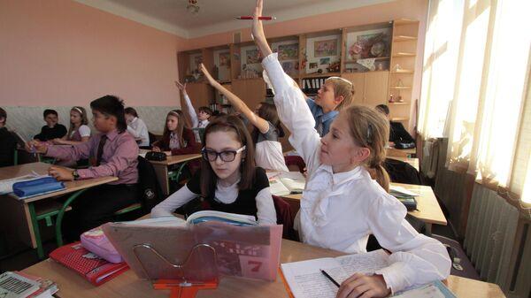 Ученики украинской школы