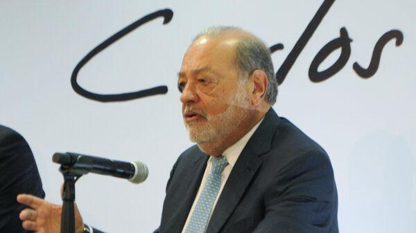 Мексиканский мультимиллиардер Карлос Слим.