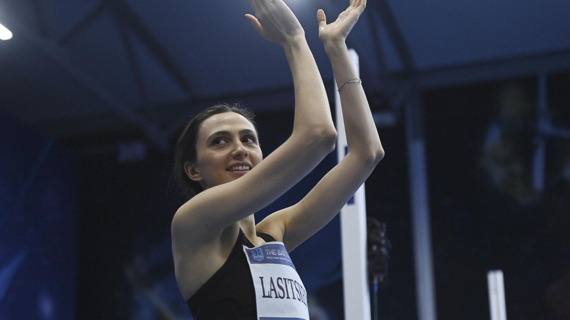 Соревнования по прыжкам в высоту Битва полов - РИА Новости, 1920, 24.07.2021