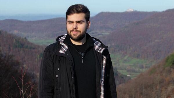 Максим Лысенко, студент магистратуры Университета Эберхарда и Карла, Германия
