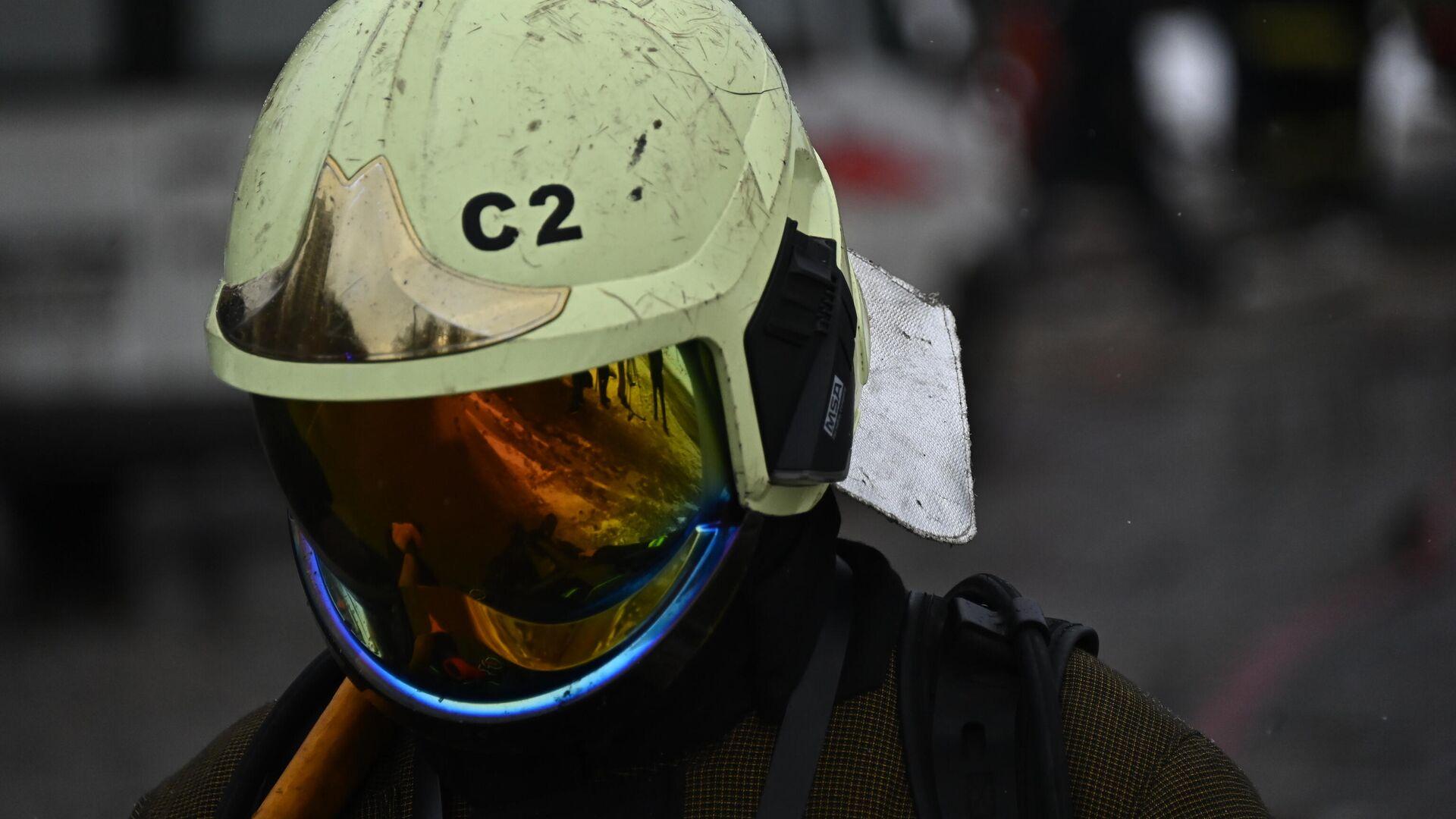 В Московской области ликвидировали открытое горение на нефтебазе
