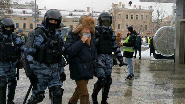 Кадры задержания Николая Сванидзе