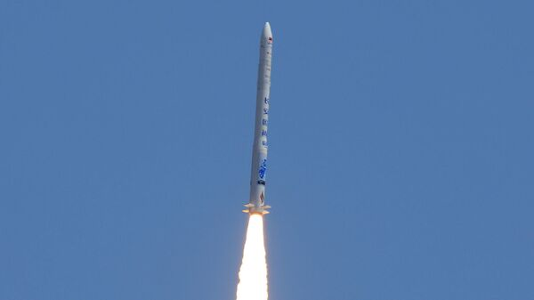 Запуск китайской коммерческой ракеты-носителя Hyperbola-1 (Шуан Цюсянь-1) компании i-Space