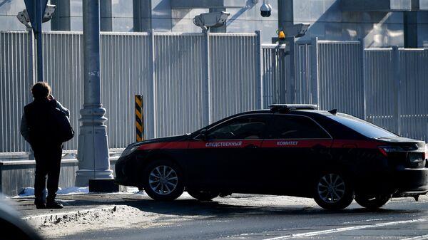 Служебный автомобиль Следственного комитета РФ