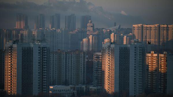 Жилые кварталы района Мякинино в Москве