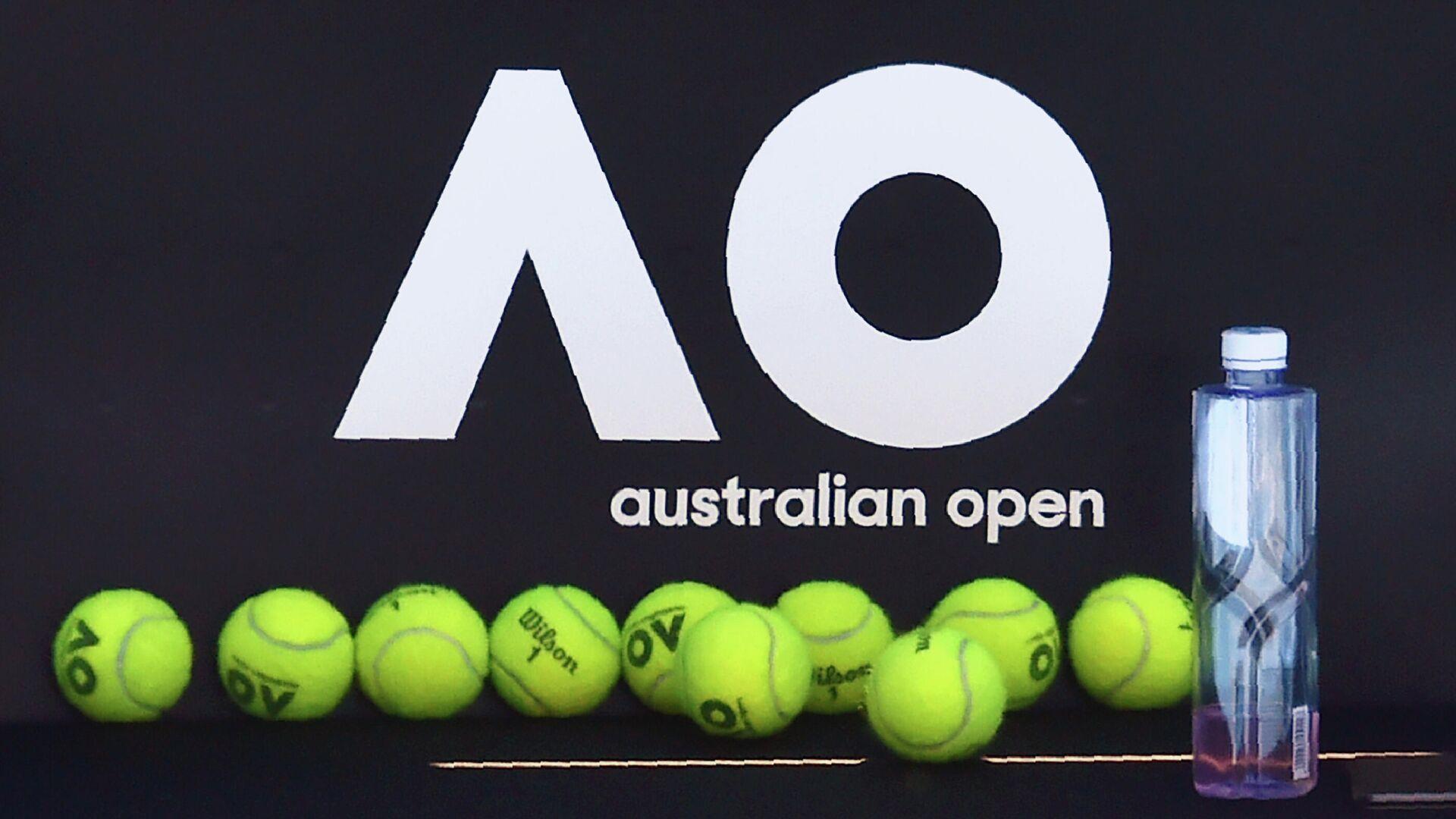 Логотип Australian Open - РИА Новости, 1920, 04.02.2021