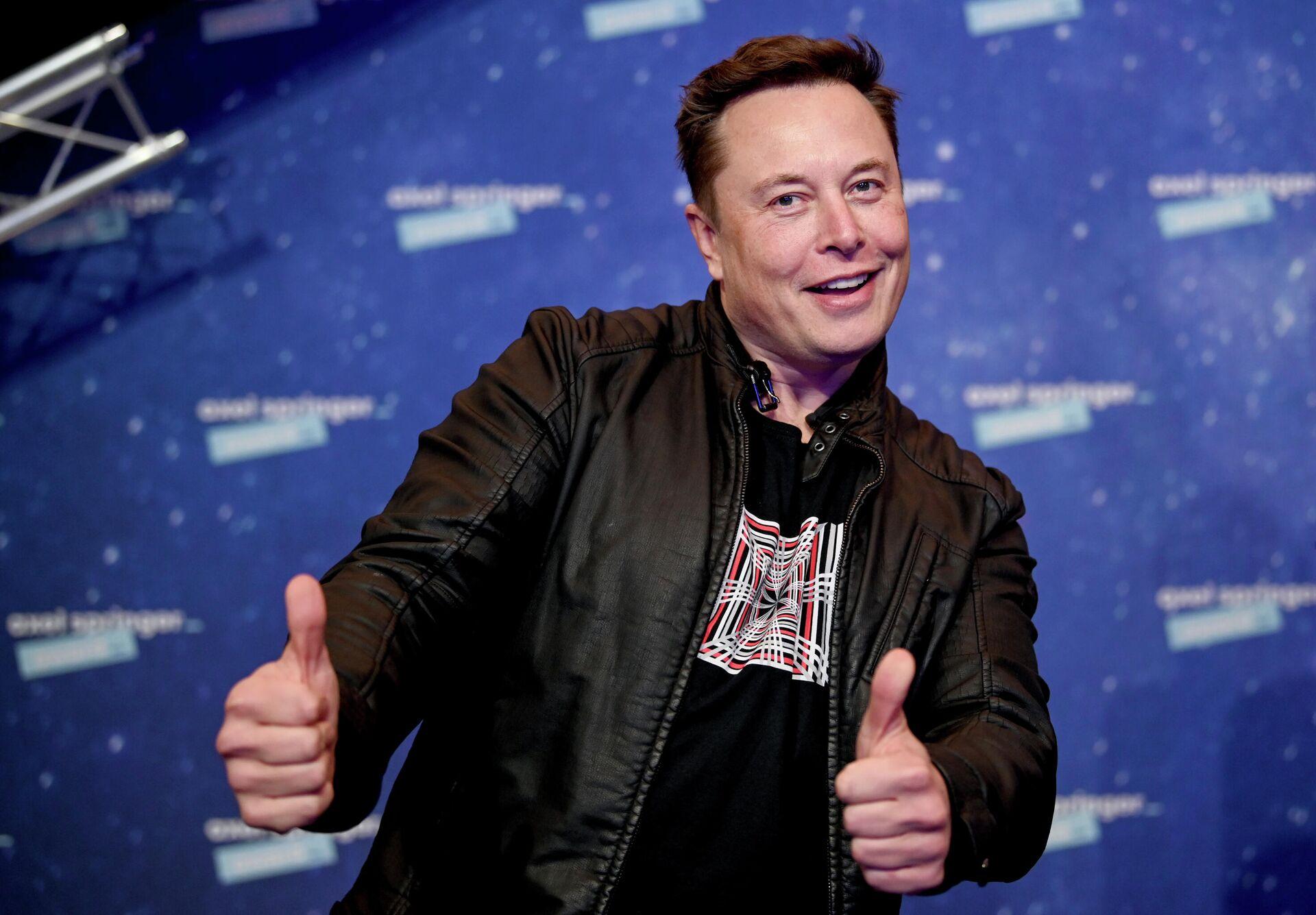 Владелец SpaceX и генеральный директор Tesla Илон Маск - РИА Новости, 1920, 30.04.2021