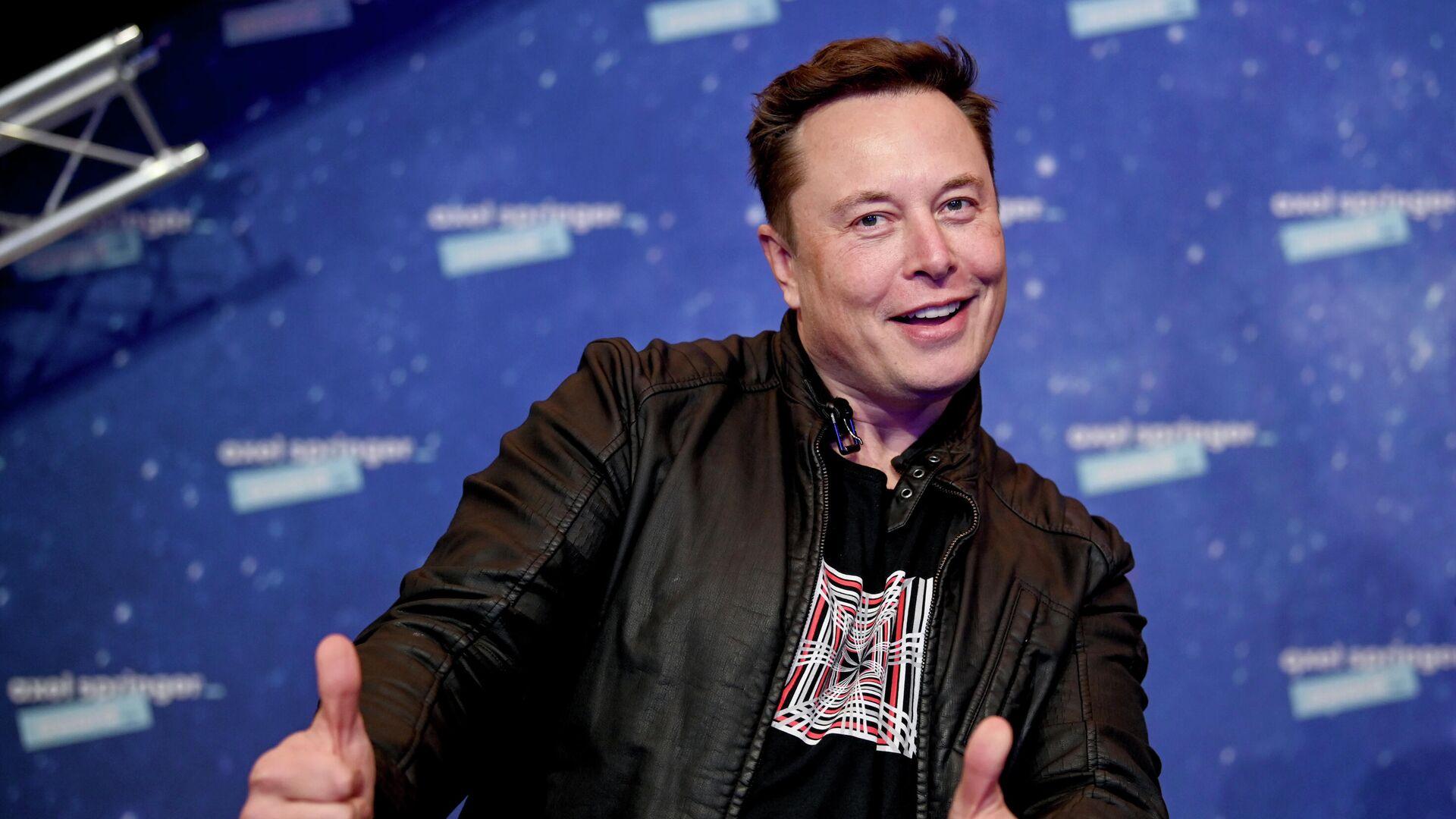 Владелец SpaceX и генеральный директор Tesla Илон Маск - РИА Новости, 1920, 04.06.2021