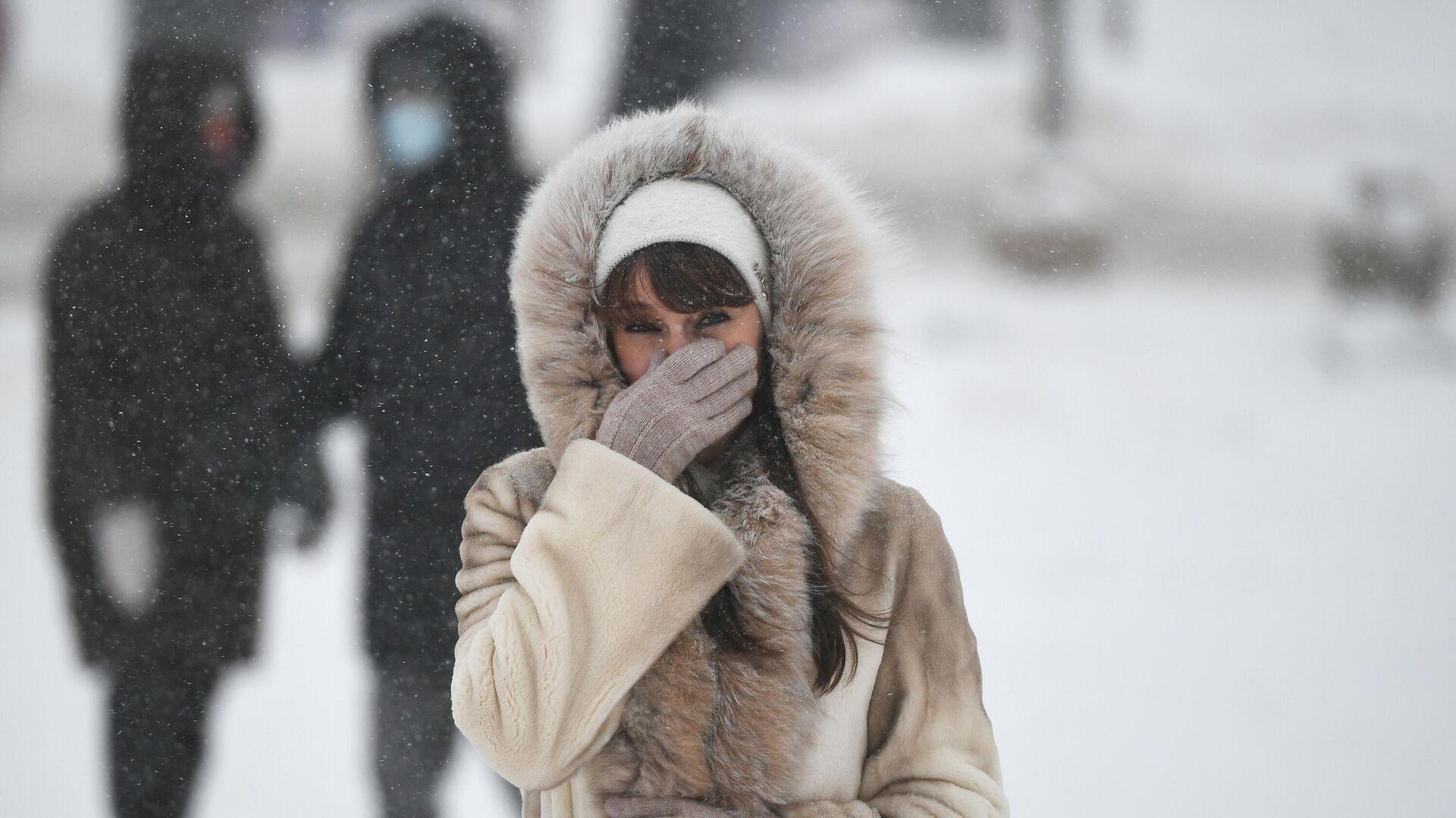 Зима в Москве  - РИА Новости, 1920, 25.02.2021