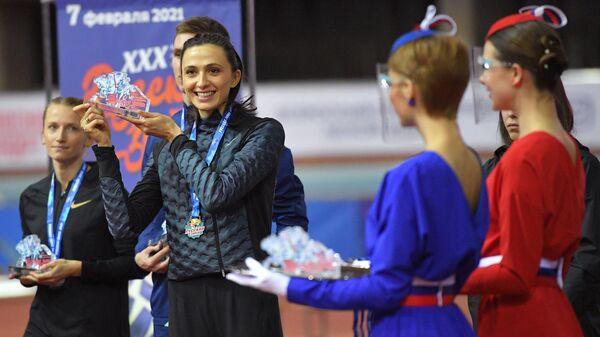Мария Ласицкене и Анна Сидорова (слева)