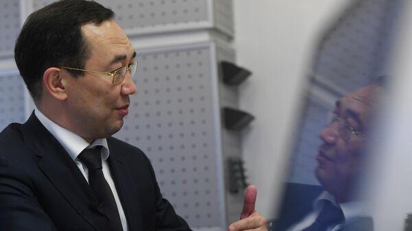 Глава Якутии Айсен Николаев