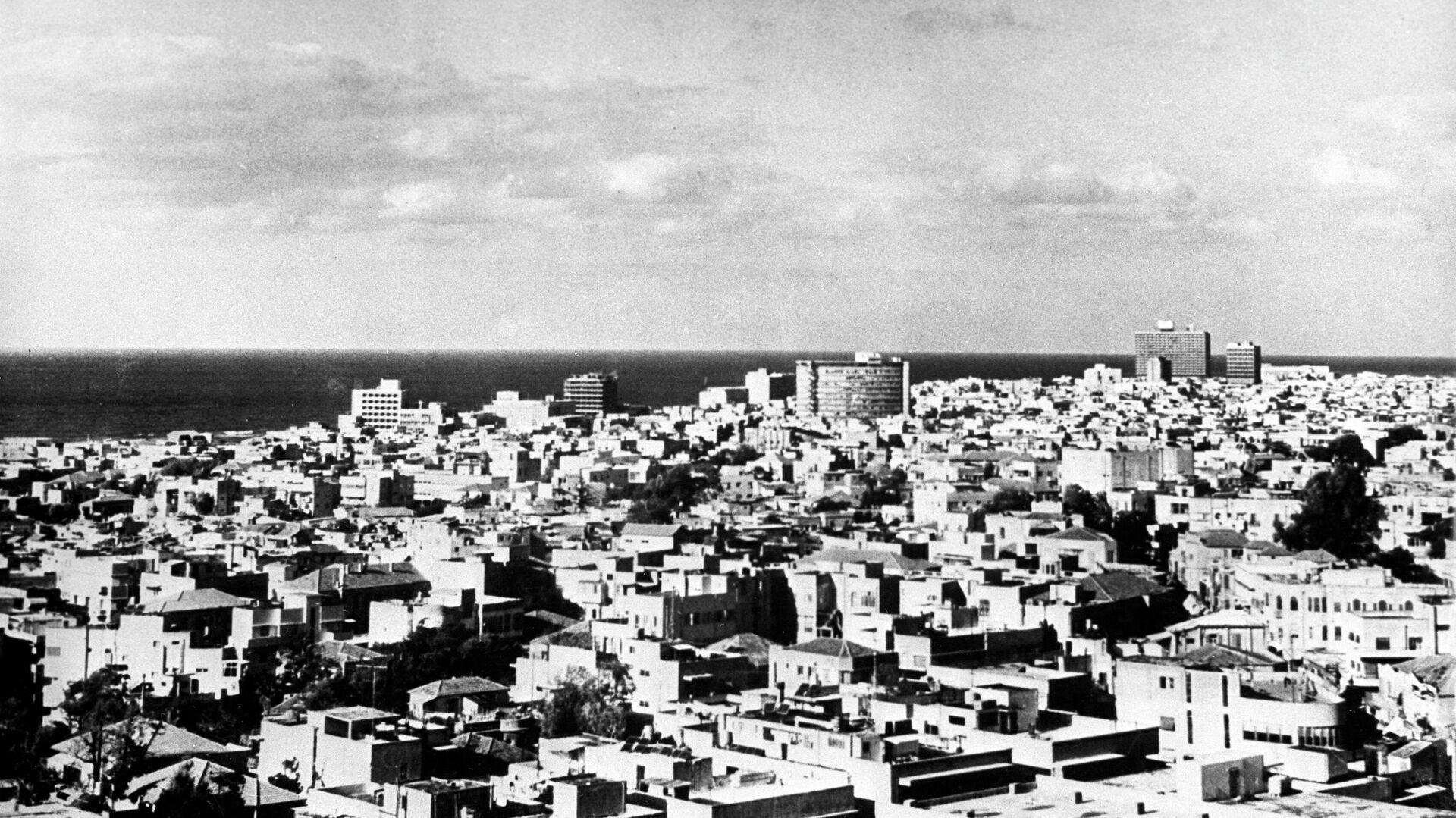 Вид на город Тель-Авив - РИА Новости, 1920, 09.02.2021
