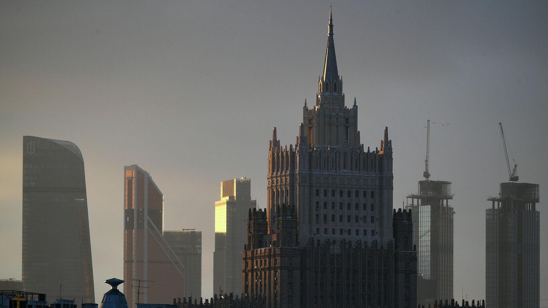 Здание МИДа в Москве - РИА Новости, 1920, 16.04.2021