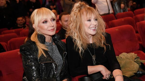 Певица Алла Пугачева с дочерью, певицей Кристиной Орбакайте