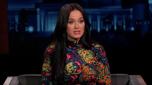 Скриншот передачи Jimmy Kimmel Live с участием Кэти Перри